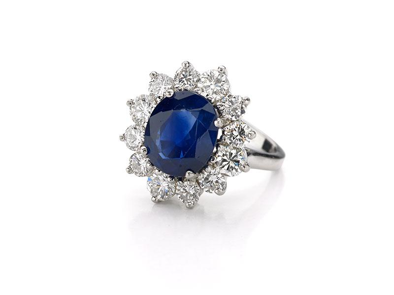 Princess Diana Sapphire Ring